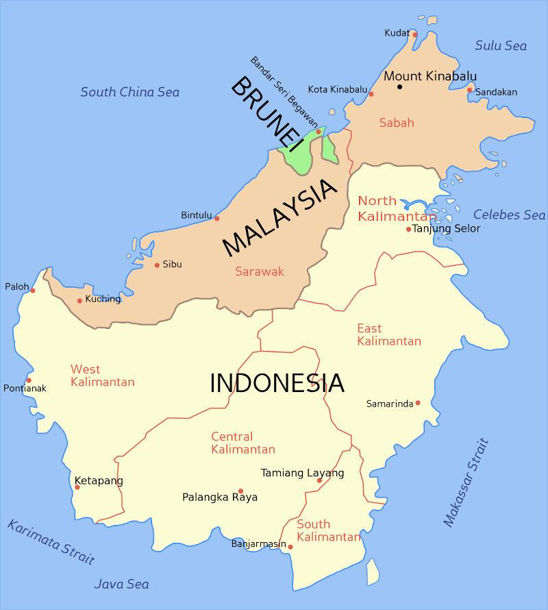 Indo Malay Map