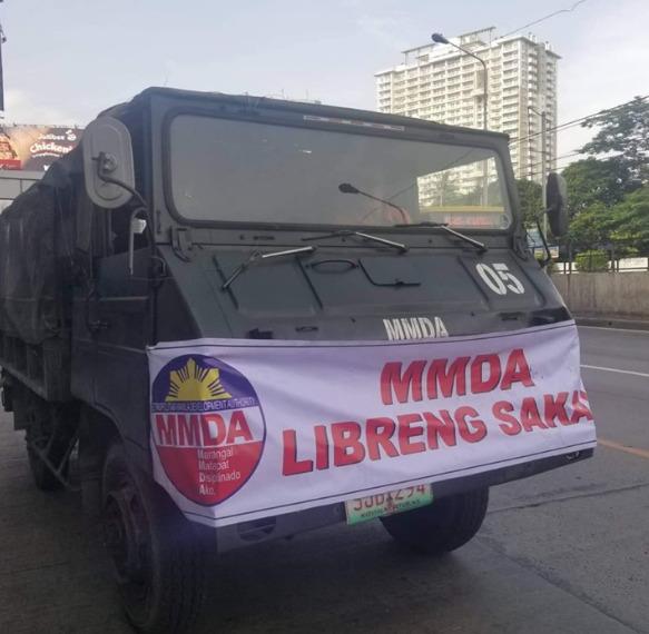 MMDA EDSA free rides