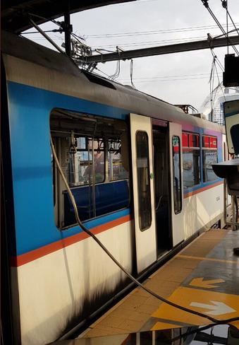 MRT train cable