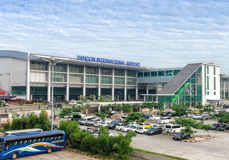 Myanmar Yangon airport