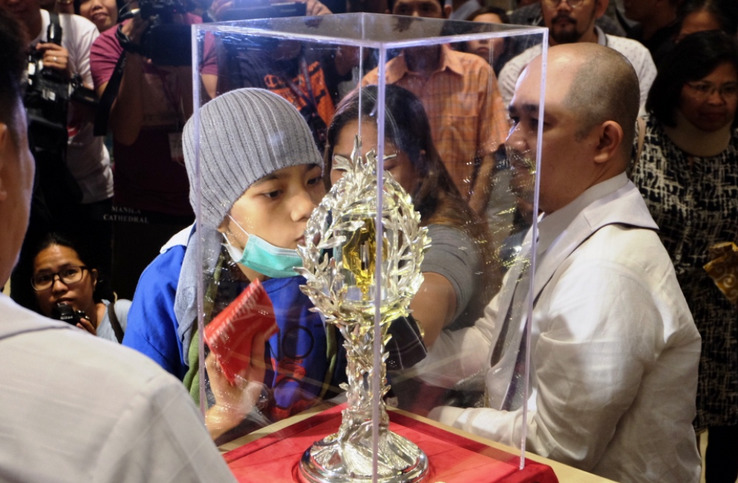 Saint John Paul II relic