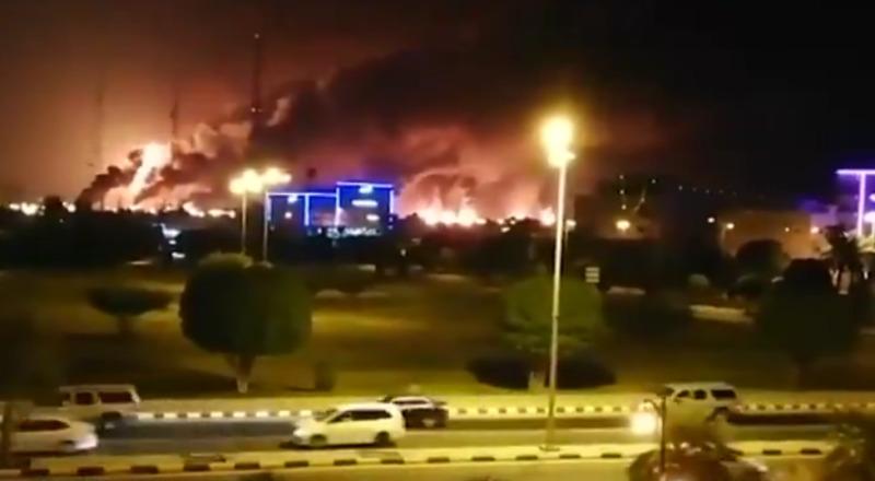 Saudi aramco attacks oil drone