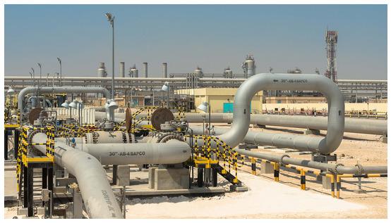 Saudi aramco oil