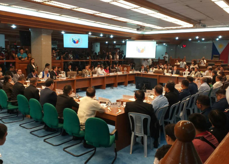 Senate hearing bilibid Bucor faeldon