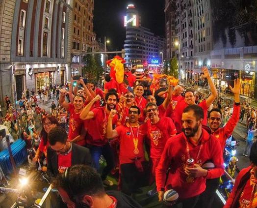 Spain fiba champ