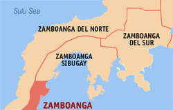Zamboanga map