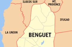 benguet baguio map