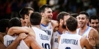cropped Argentina basketball FIBA