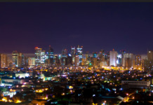 makati night skyline
