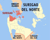 surigao city map