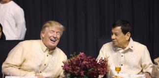ASEAN Gala Duterte Trump
