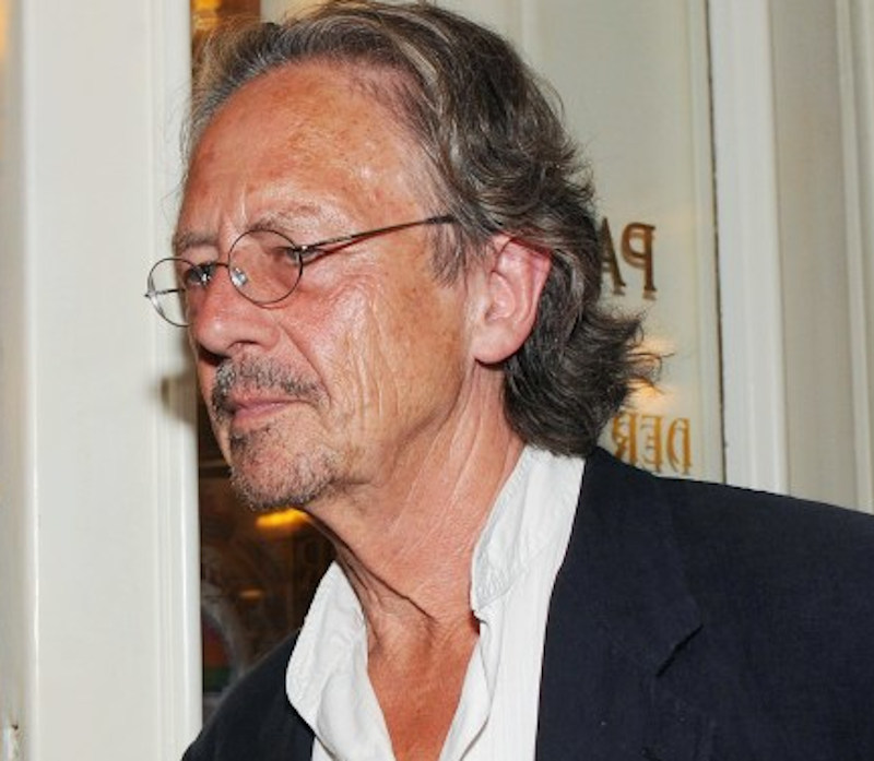 Austrian author Peter Handke