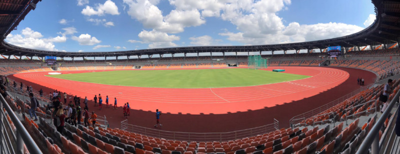 Clark stadium Capas Sea Games SEAG