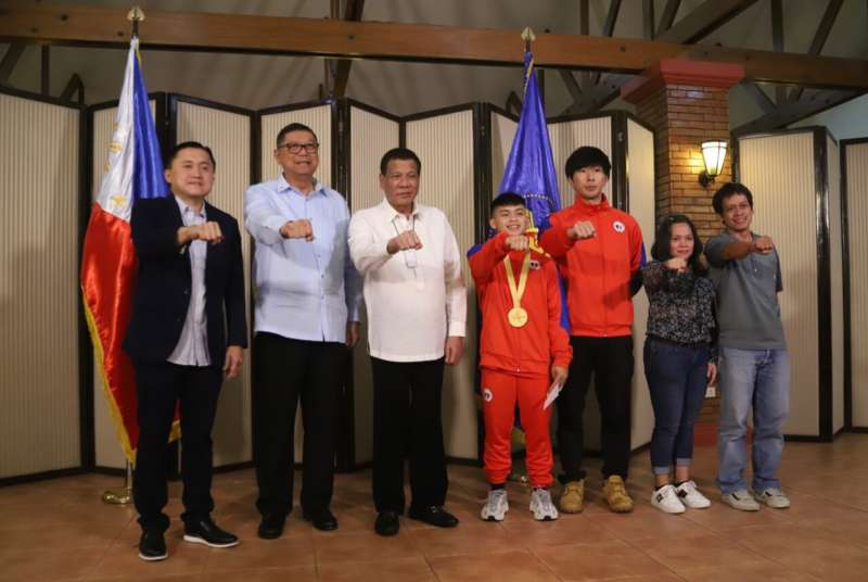 Duterte with Sports