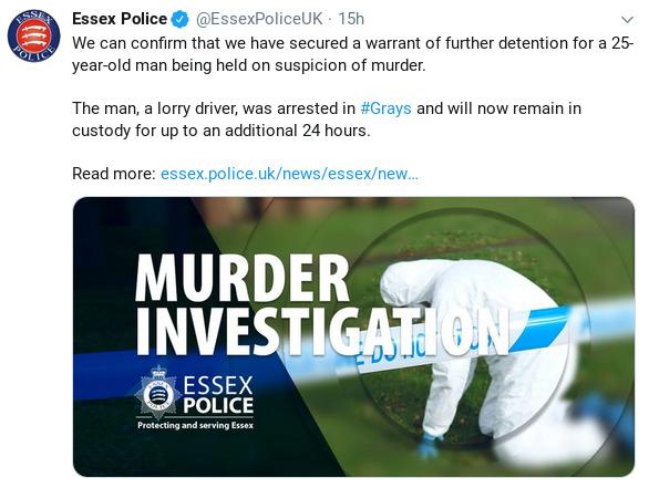 ESSEX POLICE UK