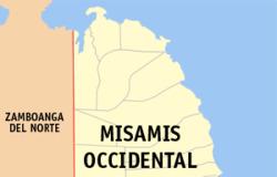 Misamis Occidental map