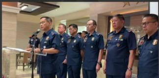 PNP Generals Gamboa Eleazar Cascolan