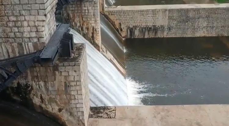 Pambar dam India