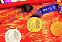 SEA games medals