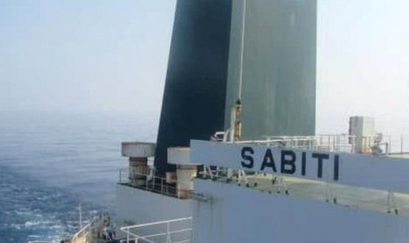 Sabiti oil tanker