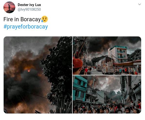 boracay fire