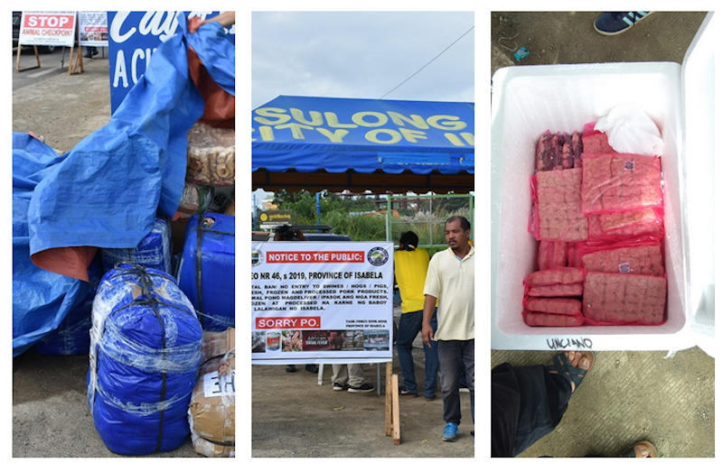 confiscated meat products of Cauayan