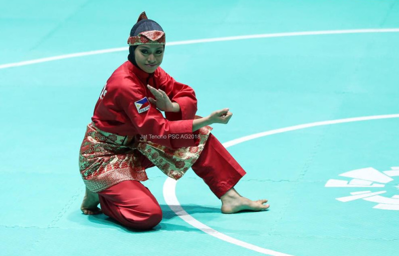 pencak silat sea game