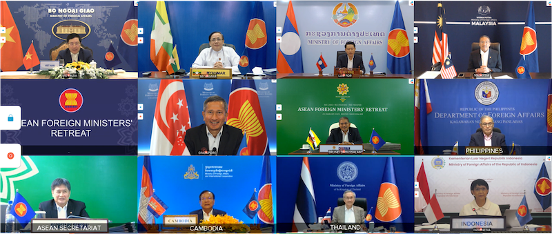 ASEAN foreign ministers 2021