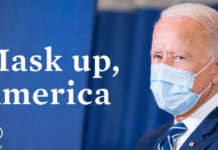 Biden US mask up America