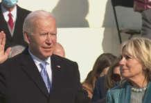 Biden takes oath