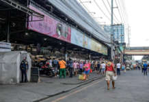 QC market palengke residents people COVID
