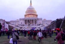 US COngress Capitol stormed Rally Trump DC Washington