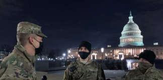 US Capitol national guards biden