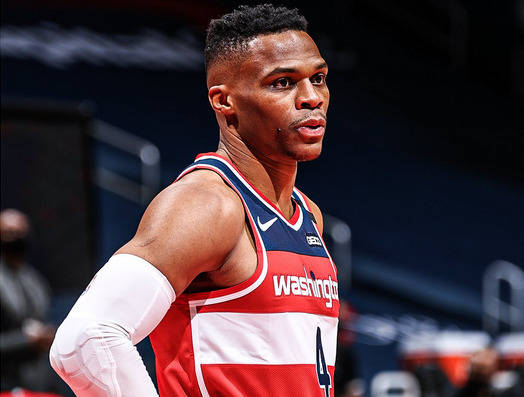 russell westbrook wizards 1