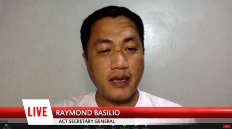 Raymond Basilio, ACT