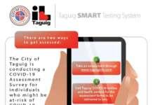 Taguig tracing app