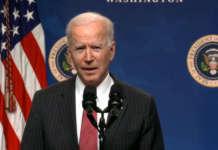US President Joe Biden white house