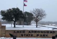 texas park winter