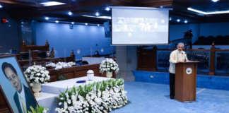 NECROLOGICAL SERVICE FOR John Osmeña