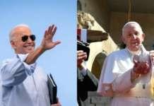 Biden and Francis