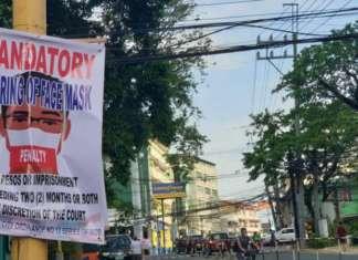 NO FACE MASK POLICY PASIG