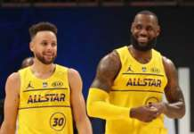 lebron curry all star