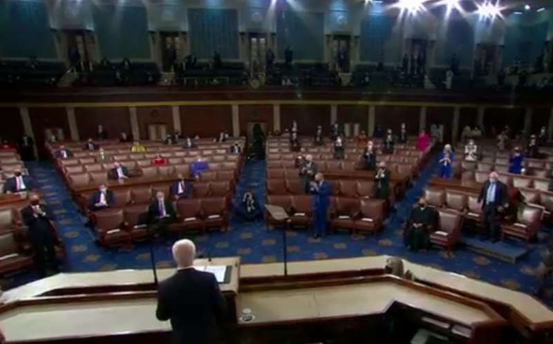 US Congress Biden joint session