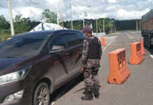 pnp CHECKPOINTS COVID