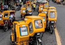 Bicol trike community ride
