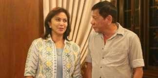 Duterte Robredo 2016 Malacanang