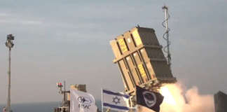 Iron Dome Missile israel