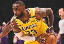 Lakers Lebron James LA