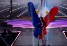 Miss U national costume Rabiya