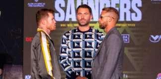 Saunders vs Canelo